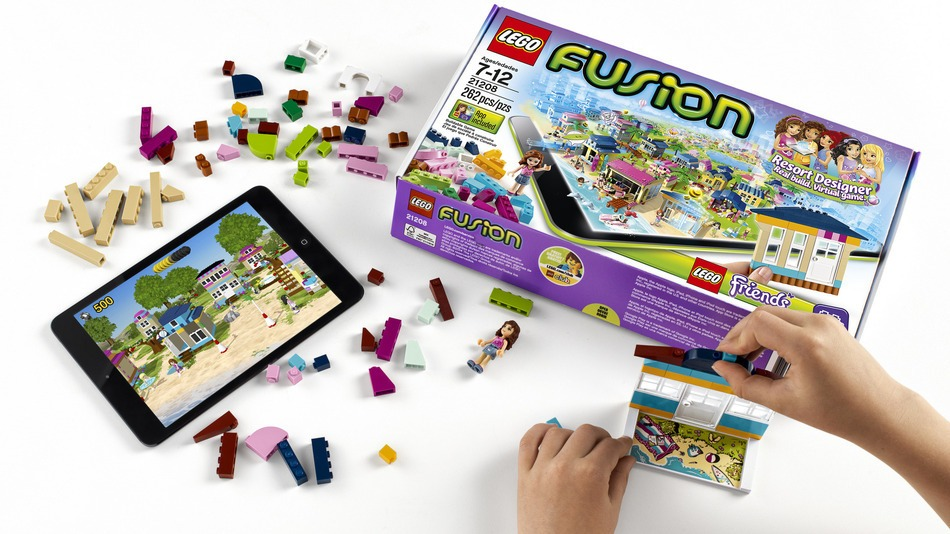 Realidade Aumentada LEGO Fusion