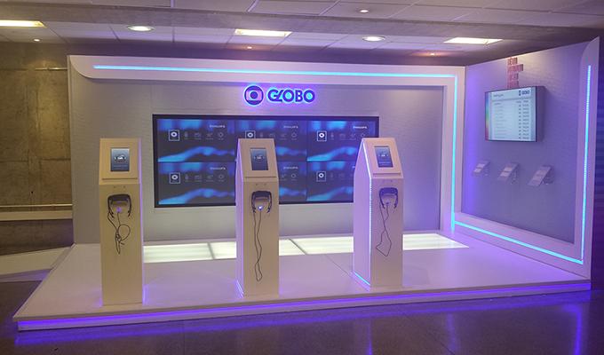 Realidade virtual Globo